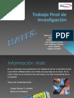 Investigacion de Mercados para HALLS (presentación)