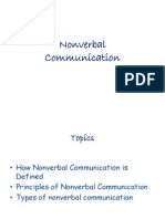 Nonverbal Communication (Modified)