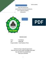 Laporan Prakrin Upw (Smk Pariwisata Kyai Gading Demak)