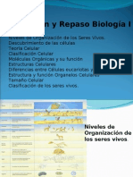 Introduccion y Repaso Biologia