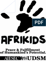 Afrikids Tshirt design