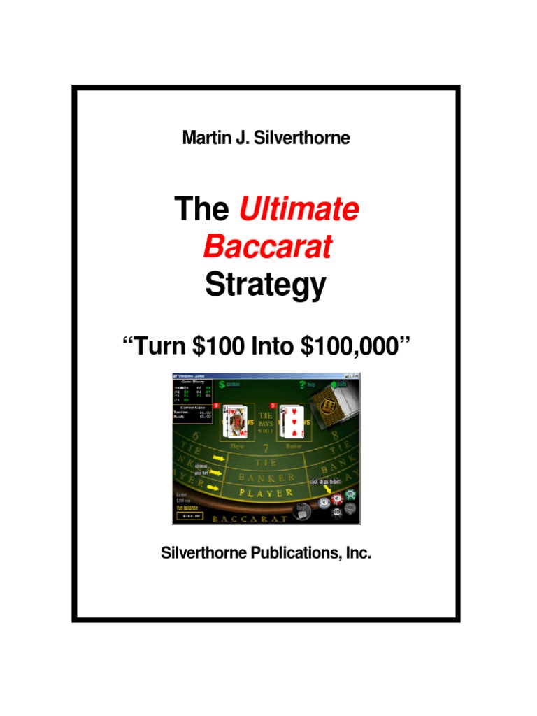 Baccarat betting strategy pdf binary options trading system strategy page