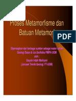6_proses Metamorfisme Dan Batuan Metamorf