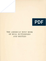 American Boys Books of Bugs Insects