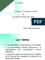 CDG - Metástasis del goce (S. Zizek)