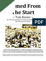 """""""Doomed from the Start"""" Tom Kneier re"""