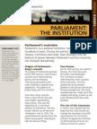 Parliament the Institution