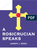 A Rosicrucian Speaks