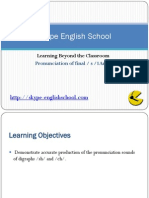 Learning English Pronunciation of Ch Sh Sound