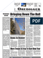 The Oredigger Issue 08 - January 24, 2007