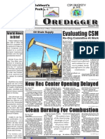 The Oredigger Issue 07 - December 6, 2006