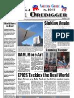 The Oredigger Issue 05 - November 1, 2006