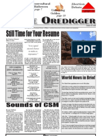 The Oredigger Issue 04 - October 20, 2006