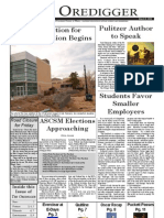The Oredigger Issue 11 - March 8, 2006