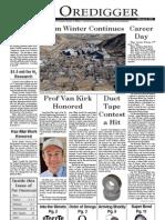 The Oredigger Issue 09 - February 8, 2006