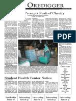 The Oredigger Issue 01 - September 7, 2005