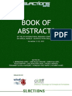 Book of Abstracts Slactions 2013