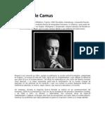 Biografía de Camus