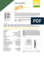Caleffi iSolar Control Brochure
