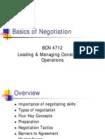 Basics of Negotiation Shish Mba Sams Ibm Varanasi India