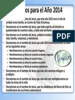 Decretos para el Año 2014