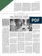 Interjú a Hargita Népe Udvarhely napilapban