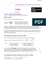 10. Power and Energy