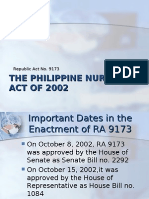 articles of philippine nursing law 2002