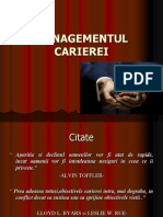 Managementul Carierei (1)