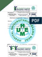 Protocolo recepción y toma de muestras 2