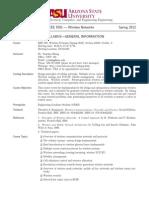 ASU AA0001 Course Page