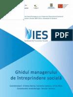 Ghidul Managerului de Intreprindere Sociala