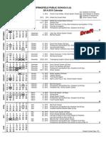 Springfield Public Schools Proposed 2014-2015 Calendar