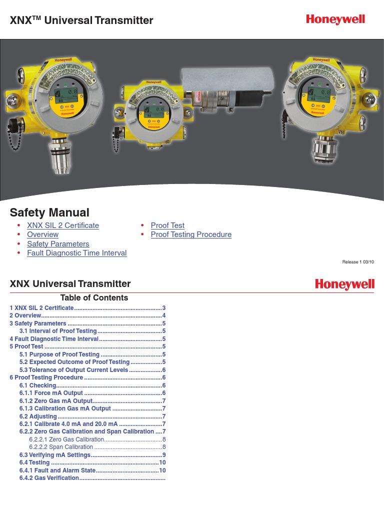 Xnx Safety Manual