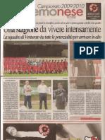 Inserto Speciale de La Provincia 2009-10 Cremonese
