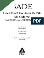 Marchizul de Sade Cele 120 de Zile Ale Sodomei v 0 9 8