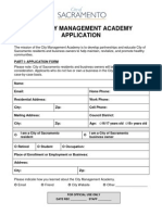 2014 CMA Application
