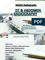Chest & Abdomen Mobile Radiography-- Dr.rana
