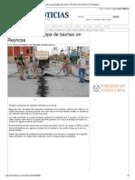 05-01-2014 'Alistan Segunda Etapa de Bacheo en Reynosa'