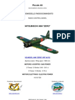 VQ MODEL A6M ZERO ARF RC CLASSE 46