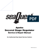 Apeks 2nd Stage Service Manual