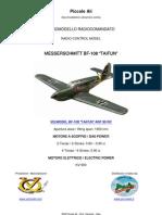 VQ MODEL BF-108 TAIFUN ARF RC CLASSE 90