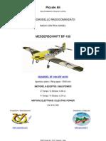 VQ MODEL BF-109 ARF RC CLASSE 46