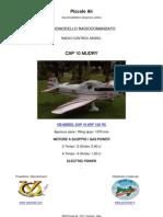 VQ MODEL CAP-10 RC ARF CLASSE 120