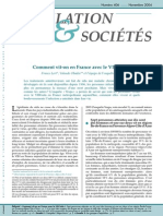 Comment Vit-On en France Avec Le VIH Sida