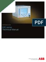 Technical Manual 630 Series