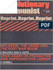 Revolutionary Communist #3 #4 - Inflation, the Crisis and the Post War Boom