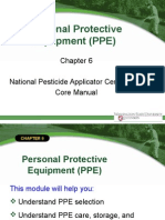 PPE Pesticide Control