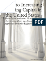 Steps to Increasing Working Capital Theodore Cacciola