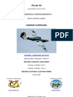 VQ MODEL HAWKER HURRICANE ARF RC CLASSE 60